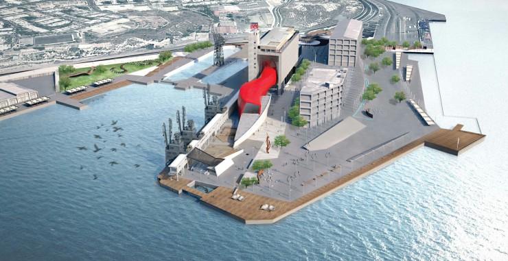 SILO Πειραιά- Ρεαλιστική άποψη του μουσείου