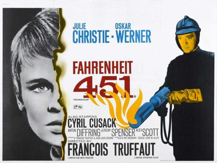 """Fahrenheit 451""- Αφίσα ταινίας"
