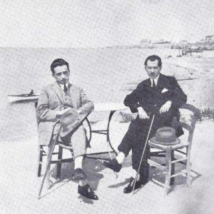 Κ. Γ. Καρυωτάκης και Ν. Καράκαλος