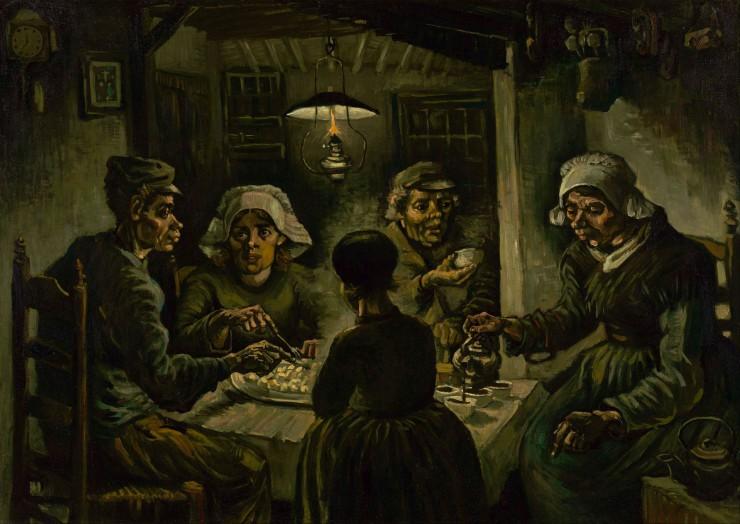Ο Vincent Van Gogh αφιερώνει στην πατάτα τον αριστουργηματικό του πίνακα το 1885