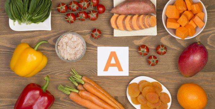 η Βιταμίνη A σε φρούτα και λαχανικά