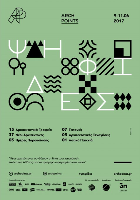 Arch Points, Event poster