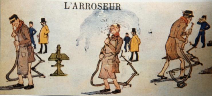 Ο ποτιστής ποτίζεται -Αφίσα της πρώτης ταινίας