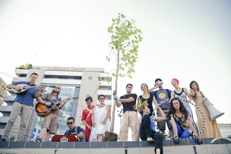 Οι ηθοποιοί, μουσικοί και performers