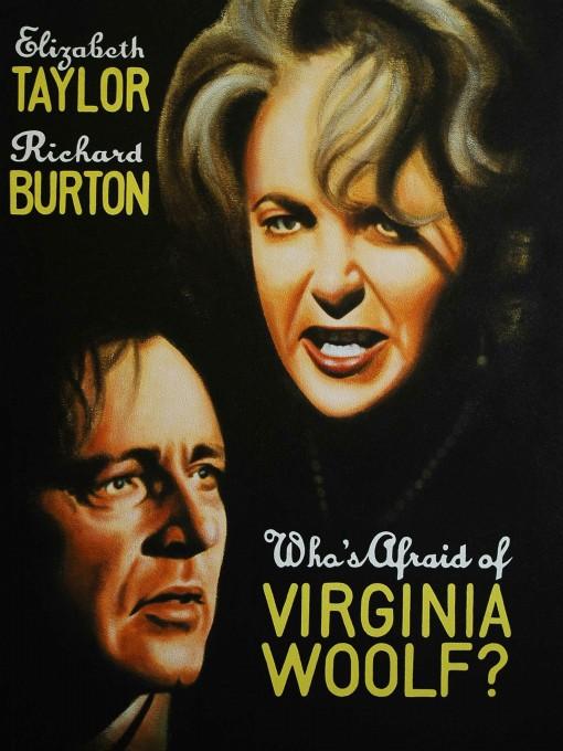 Η αφίσα της ταινίας - Ποιος φοβάται τη Βιρτζίνια Γουλφ