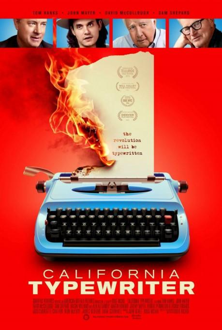 California typewriter, επίσημη αφίσα της ταινίας