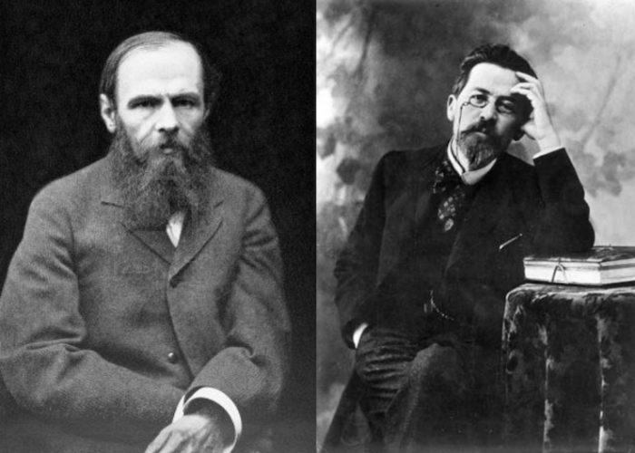 Anton Chekhov και Fyodor Dostoyevsky