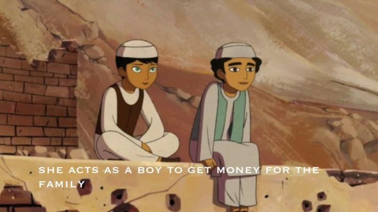 The breadwinner - Animation still