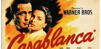Καζαμπλάνκα- Αφίσα της ταινίας με τους H. Bogart και I. Bergman