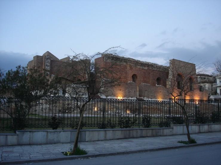 Ρωμαϊκό Ωδείο Όψη από Γερμανού
