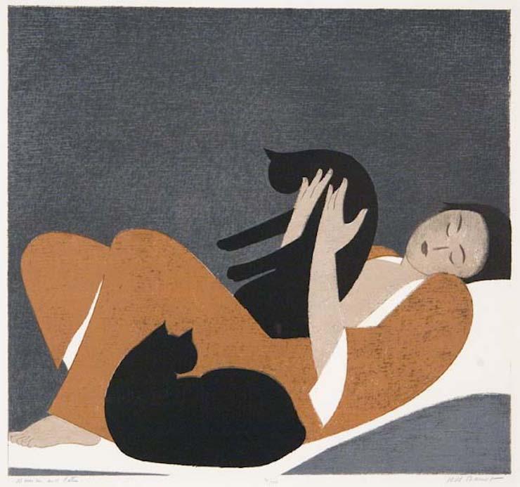 Γυναίκα και γάτες, Will Barnet
