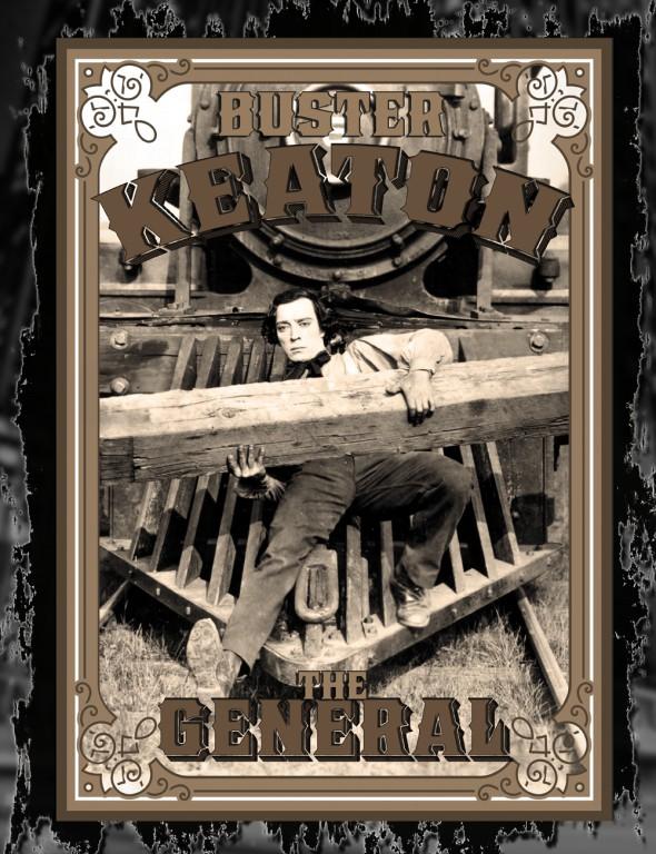 Μπάστερ Κίτον - Ο Στρατηγός -Η αφίσα της ταινίας