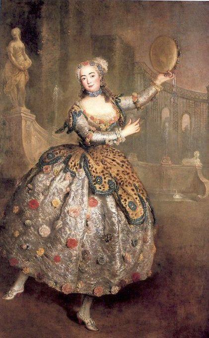 Η μπαλαρίνα Barbara Campanini