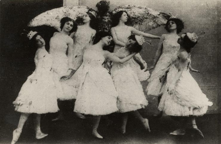 Ρωσίδες Μπαλαρίνες 1910